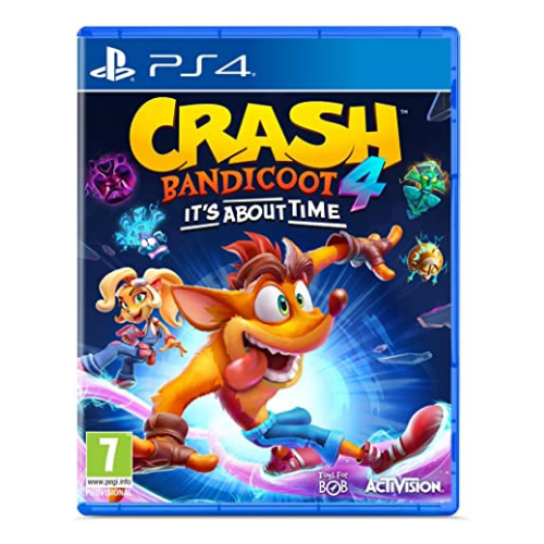 Juego Sony Crash Bandicoot 4: It's About Time Ps4