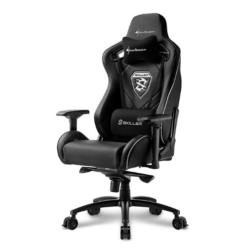 [INN03492] Silla Gamer Sharkoon Skiller SGS4 Black