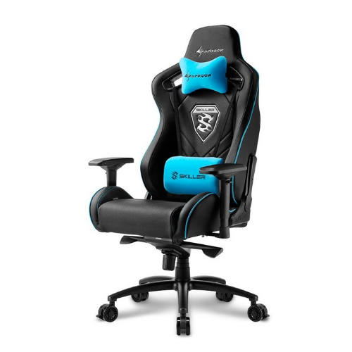 [INN03493] Silla Gamer Sharkoon Skiller SGS4 Blue