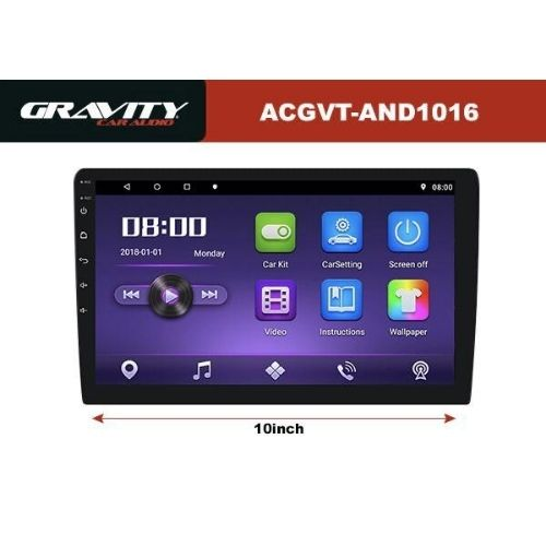 [INN03569] Radio Reproductor Gravity Car Audio AVCGT-AND1016