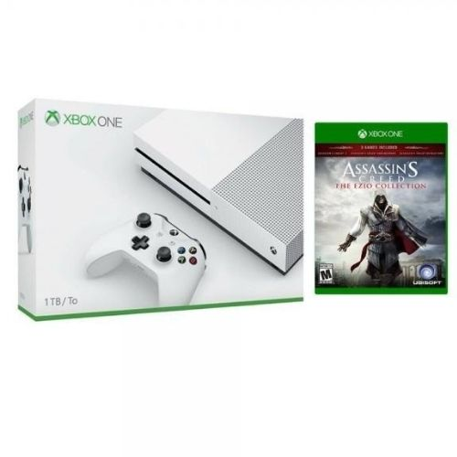 [INN04179] Consola Xbox One S Blanca + Juego Assassins Creed The Ezio Collection