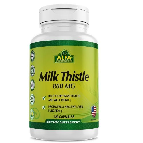 [INN0809] Milk Thistle Alfa 60-120 Capsulas